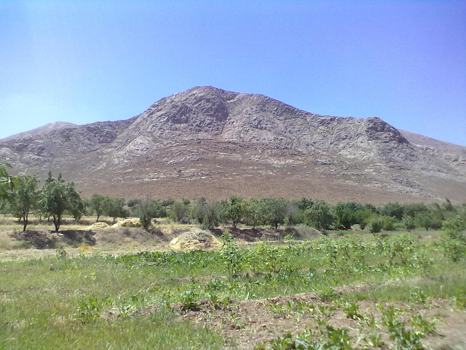 زمین کشاورزی ، کوه چینگ نوسه